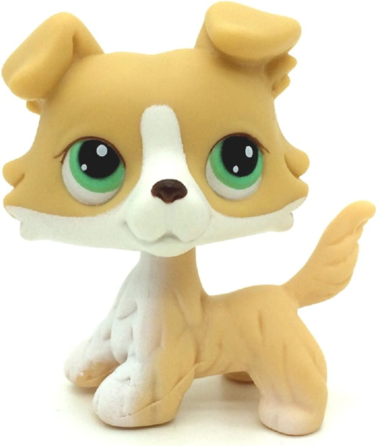 LPS  272 Collection Littlest PET Shop Yellow Colly Collie Dog Rare Toy