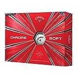 Best Golf Balls For Seniors - Callaway Golf Chrome Soft Golf Balls, (One Dozen) Review