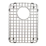 Franke Ellipse Stainless Steel Bottom Sink Grid, 10-Inches by 14-Inches