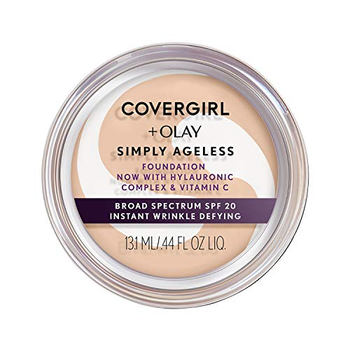 COVERGIRL - Olay Simply Ageless Foundation Classic Beige - 0.4 oz. (12 g)