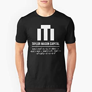 Taylor Mason Capital with Stock Algorithm from Billions Slim Fit TShirtT shirt Hoodie for Men, Women Unisex Full Size.
