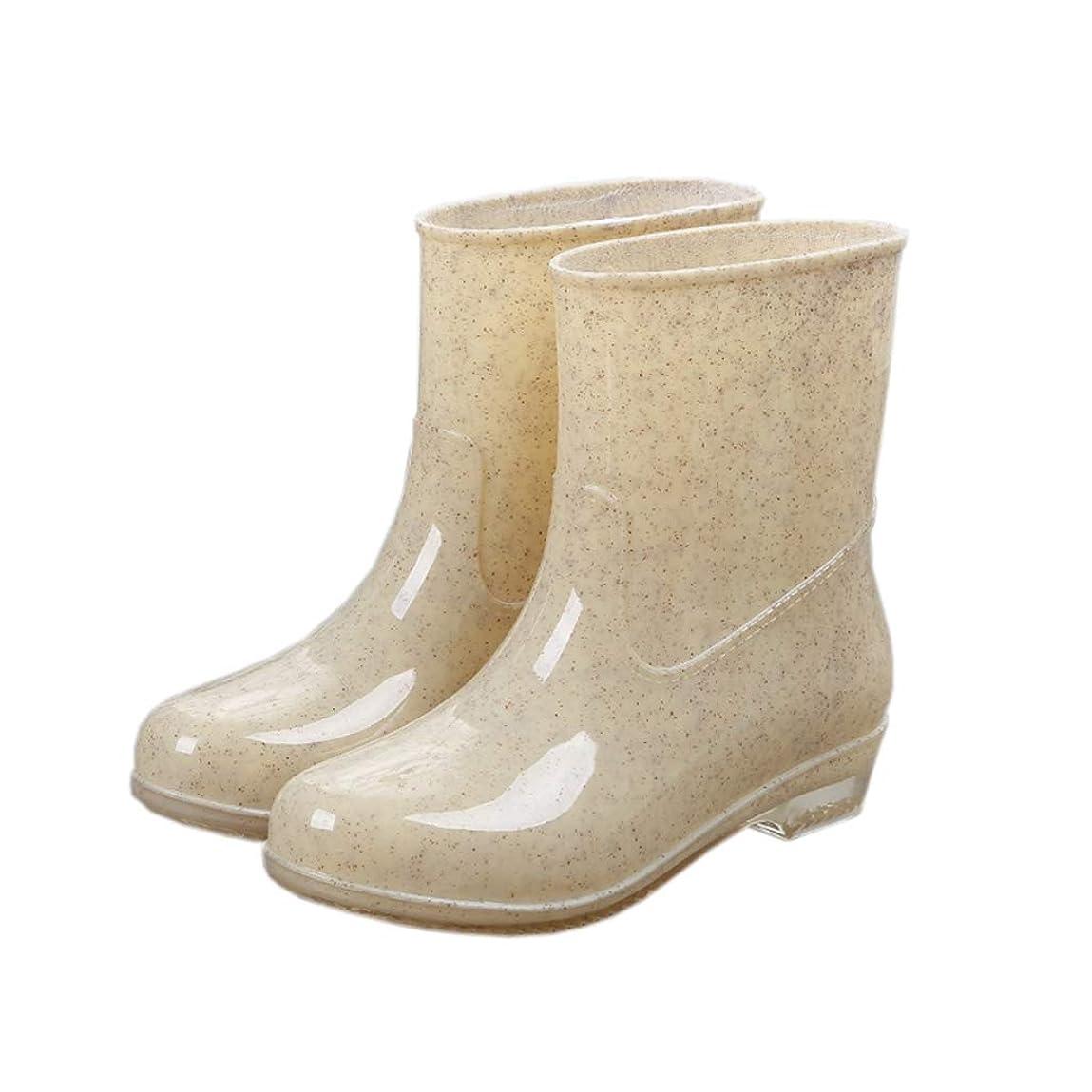 眼下位推測[テンカ]レインブーツ レディース ヒール レインシューズ 長靴 雨靴 おしゃれ 防水 ロング 軽量 防滑 無地 ガールズ かわいい 通勤 通学 梅雨対策 快適 美脚 履きやすい 歩きやすい 可愛い