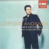 MOZART( NORWEGIAN CHAMBER ORCHESTRA PIANO CONCERTOS 9 & 18)