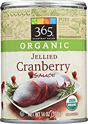 365 Everyday Value, Organic Cranberry Sauce, Jellied, 14 oz