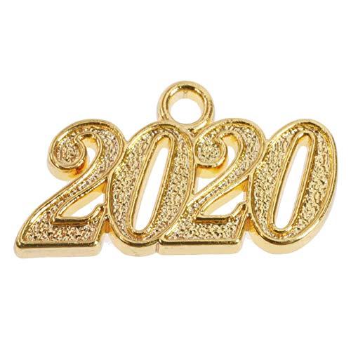 Lierys Anhänger 2020 zum Dr. Hut Flexible Doktorhut Damen/Herren - Frühling-Sommer Herbst-Winter - One Size Gold