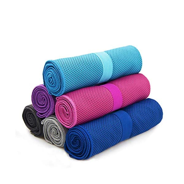 Cool Towel anngrowy Microfiber Cooling Towel for Neck Ice Cold Towels for Outdoor...