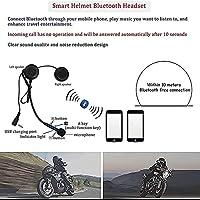 モジュラーフルフェイスヘルメット、Bluetoothフロントフリップオートバイヘルメットフリップヘルメット、ダブルサンバイザーオートバイヘルメット、DOT/ECE承認 H,XXL=61~62CM