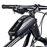 Hokyzam Rahmentasche Fahrradlenkertasche Fahrradrahmentasche Satteltasche Fahrradoberrohrtasche MTB...