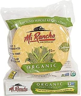 Mi Rancho Organic Yellow Corn Tortilla, 30 ct OU Kosher Certified NON GMO Verified (2)