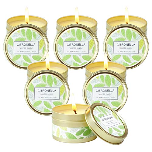 SCENTORINI Citronella Candles