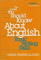 Least You Should Know About English: Form A