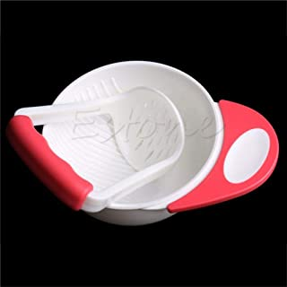 YAS Baby Kids Food Dishes Grinding Bowl Baby Children Handmade Grinding Supplement Infant Food Mill Bowl As The Picture-3