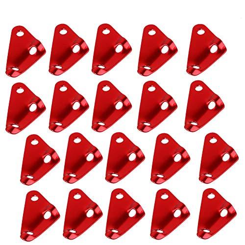 BETOY Tensores de Cuerda, 20 Piezas Tent Rope Fastener Tensor triángulo de...