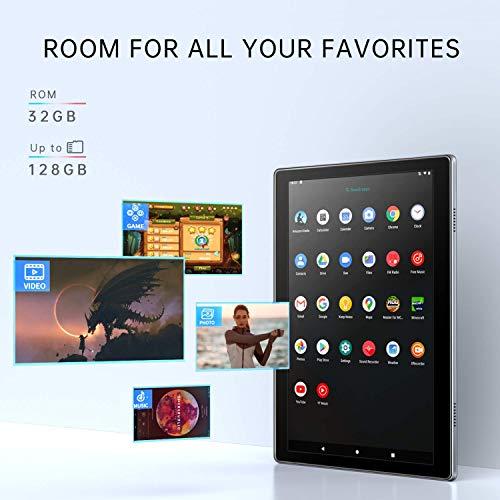VANKYO MatrixPad S30 10 inch Octa-Core Tablet, Android 9.0 Pie, 3GB RAM, 32GB Storage, 13MP Rear Camera, 1920x1200 IPS Full HD Display, Blue   tooth 5.0, 5G Wi-Fi, GPS, Silver