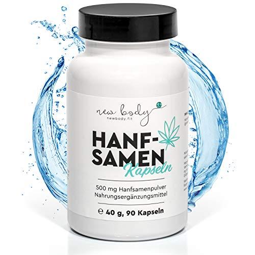 new body® Hanfsamen Kapseln - 90 Stück...