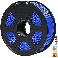ANYCUBIC 1KG Filamento de 1.75 mm PLA Impresora 3D, Filamento PLA para Imprimir en 3D en Impresoras 3D y Lápices 3D (Azul)