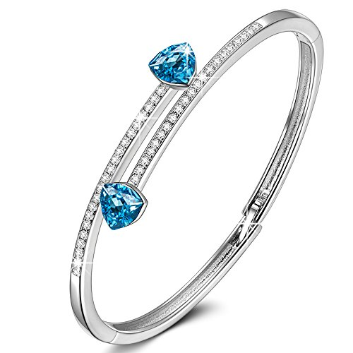 Susan Y Christmas Women Bracelet, Waltz of Love Women Jewellery, Crystals from Swarovski, Elegant Jewellery Box, Best Gifts for Women Girls Lover Birthday