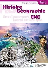 Histoire - Géographie - EMC SEGPA Cycle 4 (5e, 4e, 3e) - Livre élève - Éd. 2018 de Cristhine Lécureux