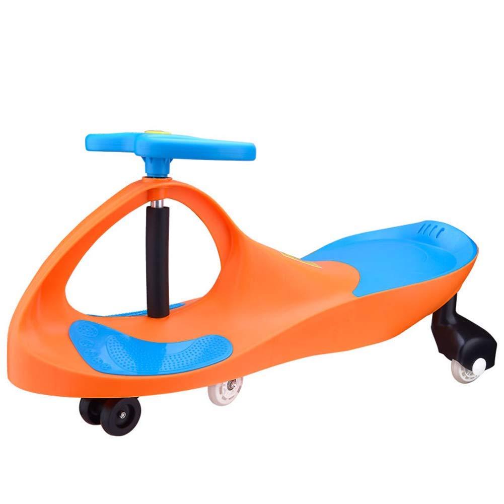 連鎖まろやかな脚lquideバランスバイクピンク、バランス自転車サイレントホイールツイストカー新素材グリーンスイングカー3歳子供幼児スクーター