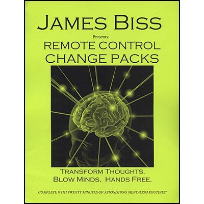 Murphy's Remote Control Change Pack by James Biss - Trick