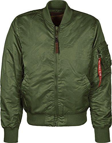 ALPHA INDUSTRIES MA-1 VF 59, Dark Green, 3XL para Hombre