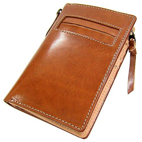 機能性×高級素材!イタリアンレザー 折財布 [Maturi] 二つ折り財布 メンズ 誕生日プレゼント(タン)3021