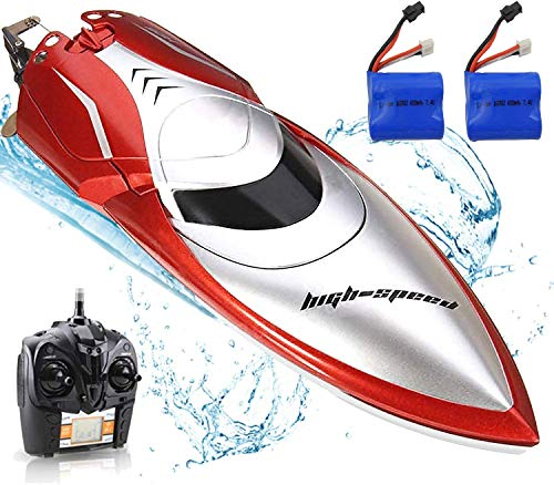 Haktoys RC Remote Control Boat, High Speed 25KM/H Radio...