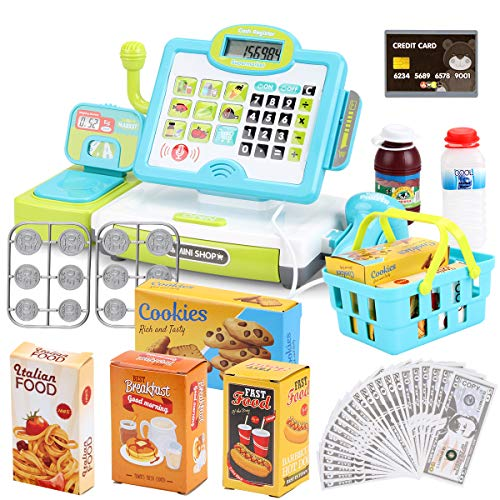FS Pretend Play Calculator Cash Register Toy as Preschool Gift