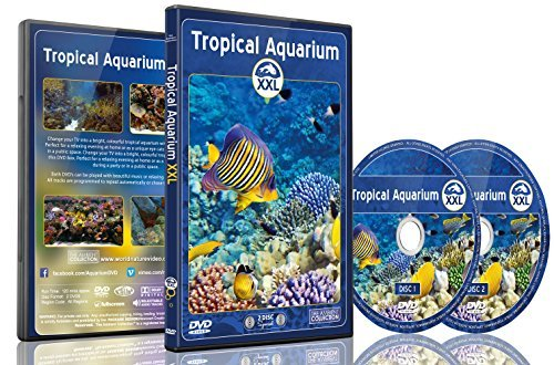 Aquarium DVD - 2 DVD Set Tropical Aquarium XXL - 2 Hours of Colorful Corals and Fishes by The Ambient Collection