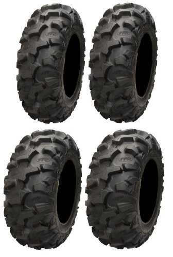 Full set of ITP Blackwater Evolution 27x9-12 and 27x11-12 ATV Tires (4)