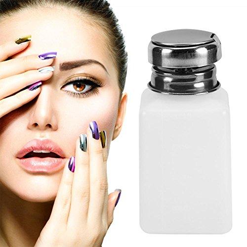 200ML Bouteille à ongles vide pompe distributeur de vernis à ongles maquillage nettoyant liquide bouteille