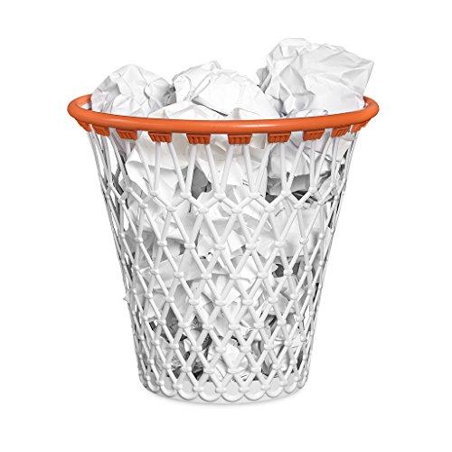balvi-BasketPapierkorb.MitdemlustigemLookeinesBasketballkorbs.Farbe:weiß.HergestelltaussehrwiderstandfähigemKunststoff.