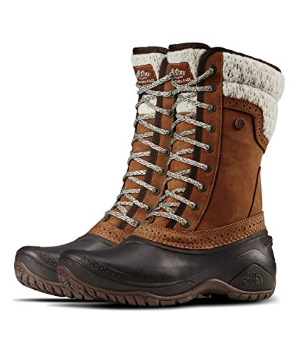 The North Face Shellista II Mid Snow Boot, Dachshund Brown/Demitasse Brown, 9