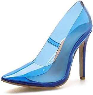 Damen Pointed Transparent Sandals,Summer Pumps Sandals,Stiletto High Heel Adds To Your Height And Makes You Look More Elegant And Charming