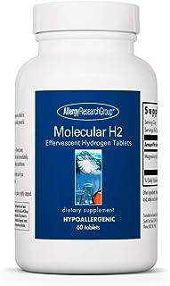Allergy Research Group - Molecular H2 - Antioxidant, Hydrogen - 60 Effervescent Tablets