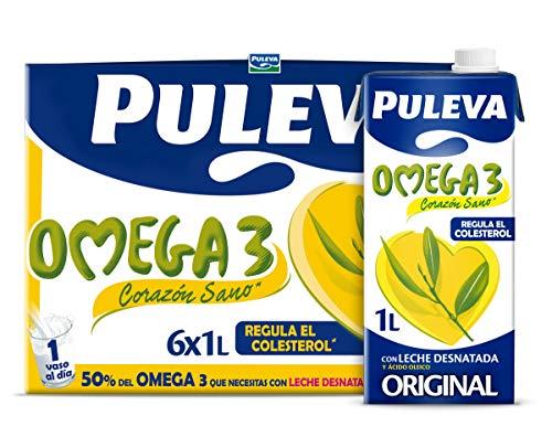 Puleva Omega 3 Leche - Pack 6 x 1Lt