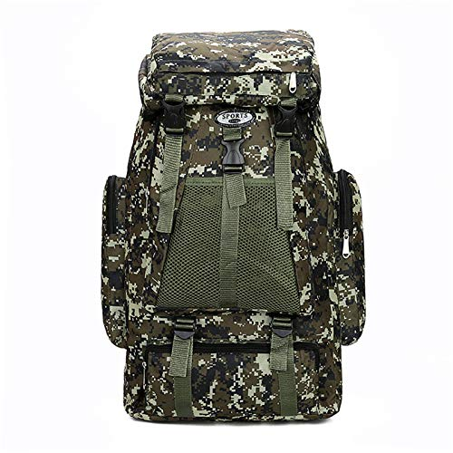 Lufria 60L Hiking Backpack Tactical Packs Outdoor Travel Assault Lightweight Bag Durable Camouflage Rucksack Scalable Camping Hunting Climbing Camping For Men Women
