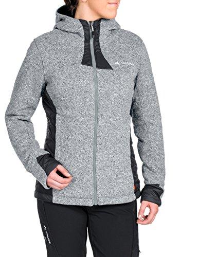Preisvergleich Produktbild VAUDE Damen Jacke Rienza padded Jacket,  Grey-Melange,  42,  05730