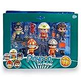 Pinypon Action- Set de 5 Figuras Series 2 con Accesorios para niños y niñas de 4 a 8 años,...