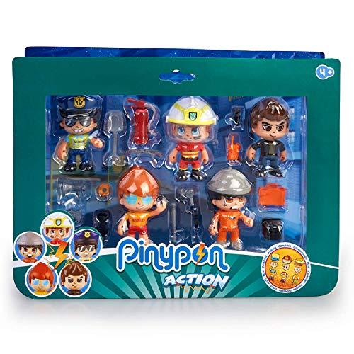 Pinypon Action- Set de 5 Figuras Series 2 con Accesorios