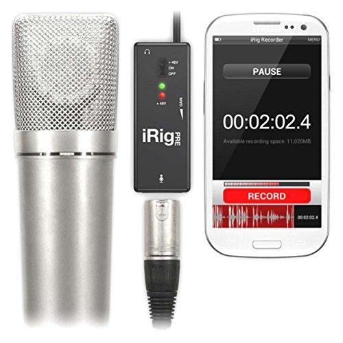 IK MULTIMEDIA iRig PRE PREAMPLIFICATORE MICROFONICO PER iOS E ANDROID (compatible con iPad, iPhone, iPod Touch)