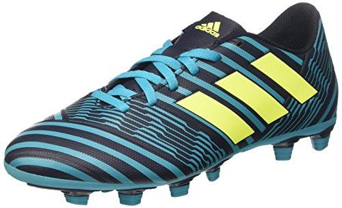 adidas Herren Nemeziz 17.4 FxG S80608 Fußballschuhe, Blau (Legend Ink/solar Yellow/Energy Blue), 41 1/3 EU
