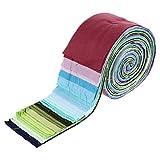 EXCEART Tela de Algodón Quilting Strips Jelly Roll DIY Patchwork Tela Tira Manual Acolchado Costura Patchwork Artesanía Colorido 36 Piezas