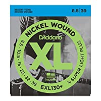 D'Addario EXL130+ エレキギター弦×3セット