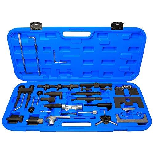 Zahnriemenwerkzeug Set 29 TLG. inkl. Koffer geeignet für V.A.G. Motoren wie z.B. Audi VW SEAT Skoda CVZW-14