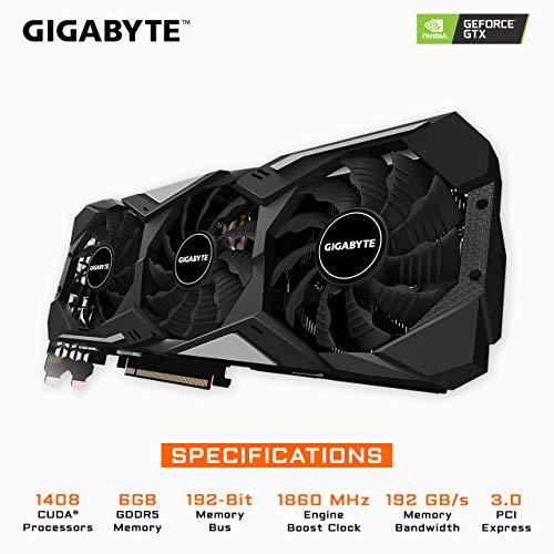 Build My PC, PC Builder, Gigabyte Gv-N1660GAMING OC-6GD