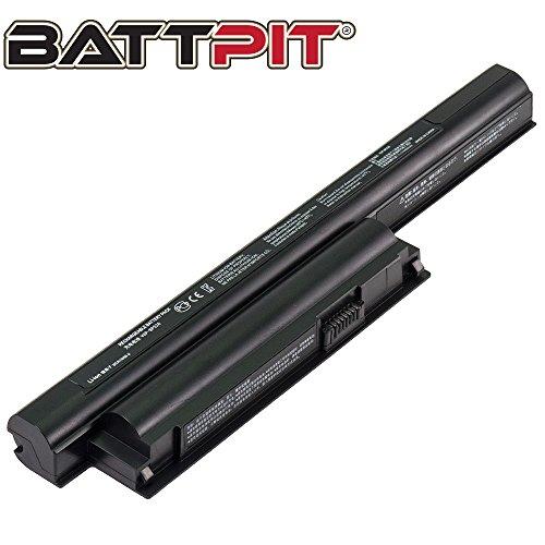 Battpit Laptop Akku für Sony VGP-BPL26 VGP-BPS26 VGP-BPS26A VPCEJ3T1E VPCEH2F1E VPCEH3N1E VPCEH3N6E VPCEL2S1E VPCEJ1Z1E - [6 Zellen/4400mAh/49Wh]