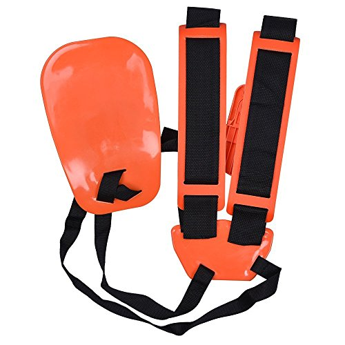 KISSTAKER Trimmer Shoulder Strap, Trimmer Harness Strap Double Shoulder Mower Nylon Belt with Easily...