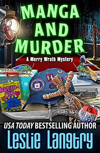 Manga and Murder (Merry Wrath Myste…