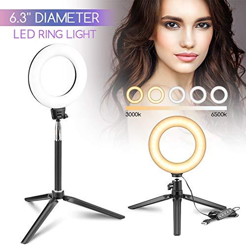 Luz de Anillo LED fotográfica Regulable 18W